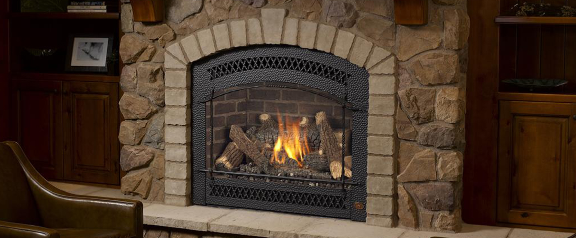 Fireplaces Gas Ventless Direct Vent East Texas Brick Tyler