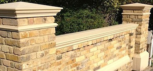 Cast Stone Exterior Detailing Copings Cappings Columns