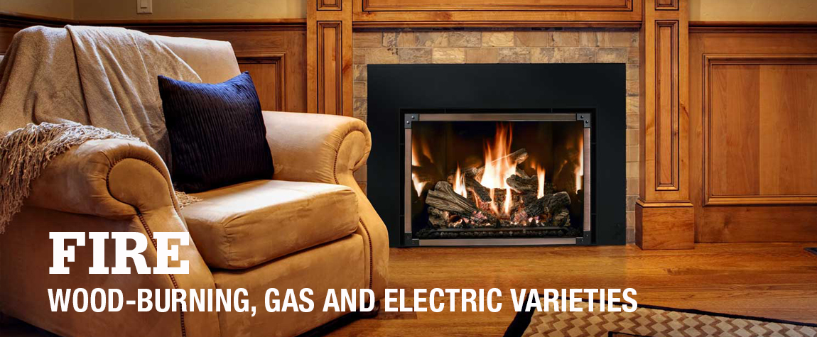 Wood-Burning, Gas and Electric Varieties