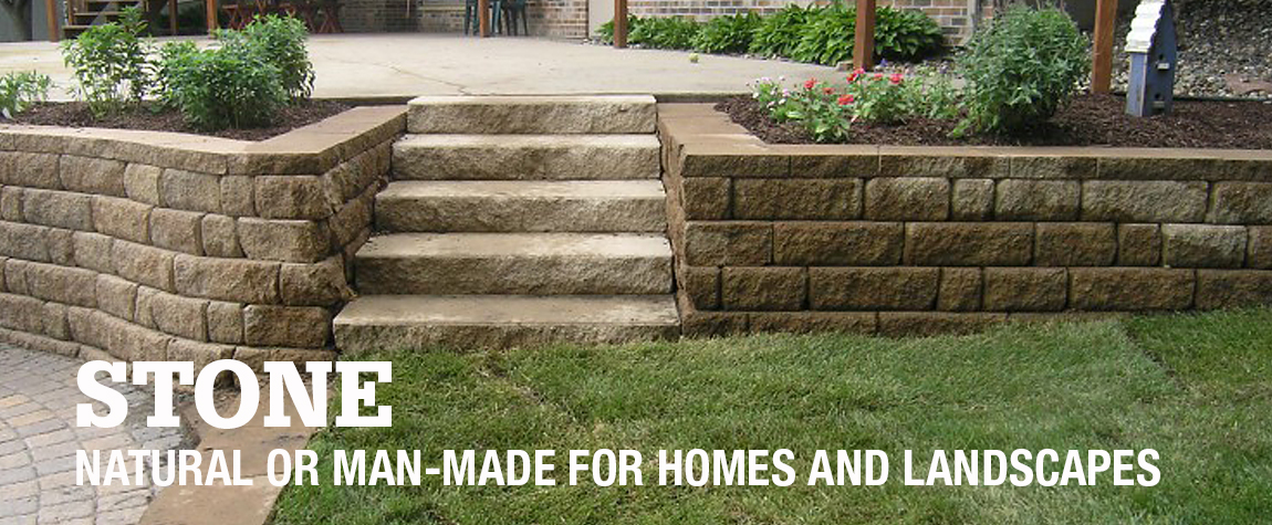 Natural or Man-Made for Homes and Landscapes