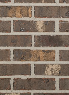 Residential Brick - tan brown orange