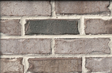 Residential Brick - charcoal black