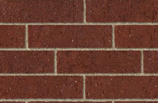 Commercial Brick - red pink burgundy