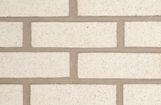 Commercial Brick - white buff gray