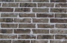 Commercial Brick - white buff gray