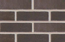 Commercial Brick - charcoal black