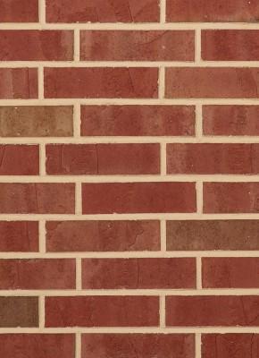 Residential Brick - red pink burgundy