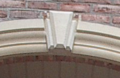 Cates Cast Stone Keystone