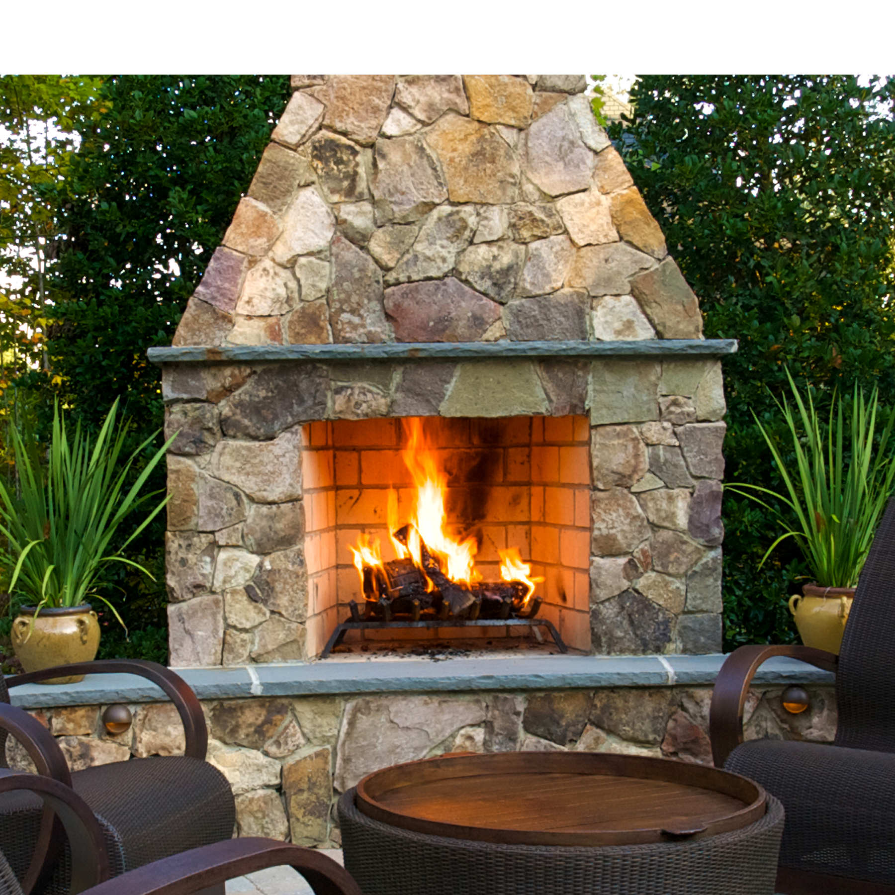 fireplace thumb 33 1494966732 Top Result 50 Awesome Outdoor Gas Fireplace Kits