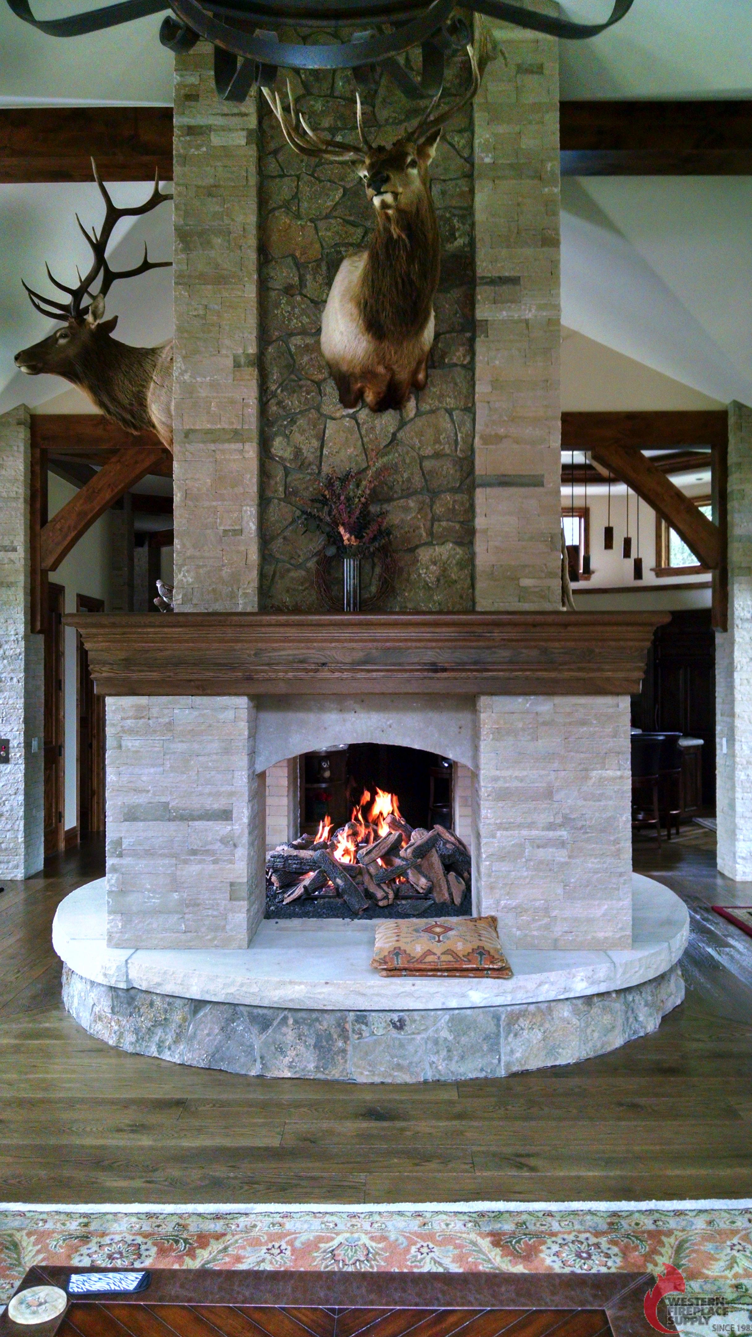 Mason-Lite See Thru Fireplace
