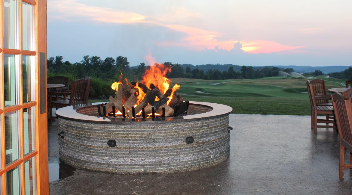 Eiklor Flames Firepit